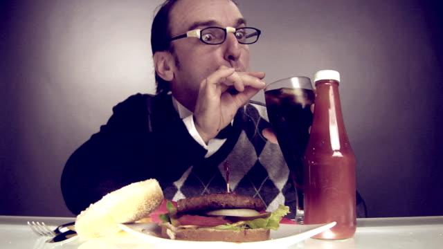 Nerds Eating Burger