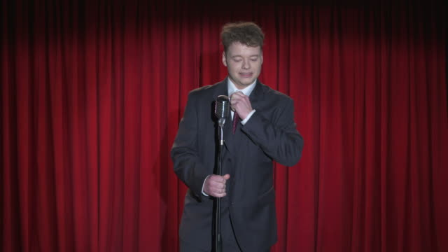 HD: Nervous Stand Up Comedian