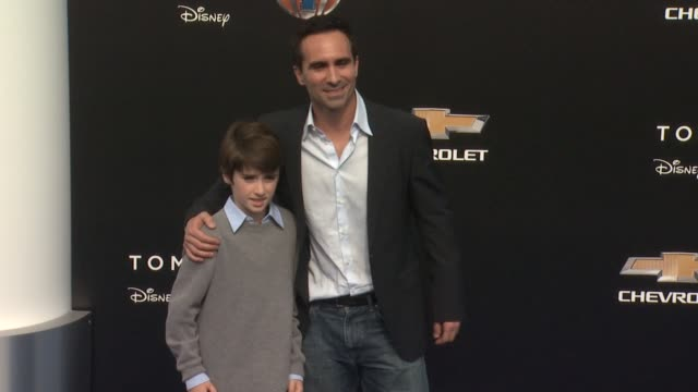 nestor carbonell at the tomorrowland los angeles premiere at amc downtown disney 12 theater on may 09 2015 in anaheim california - anaheim california stock videos and b-roll footage