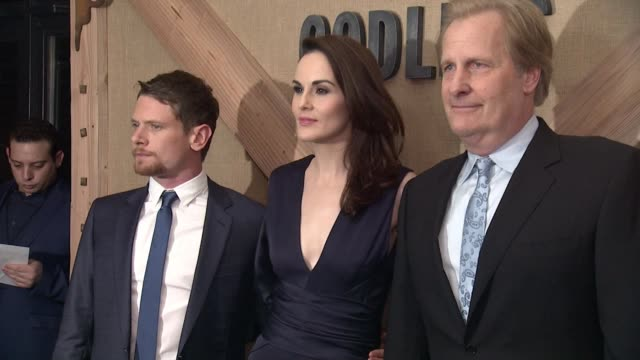 clean netflix limited series godless new york special screening at the metrograph on november 19 2017 in new york city - netflix stock videos & royalty-free footage