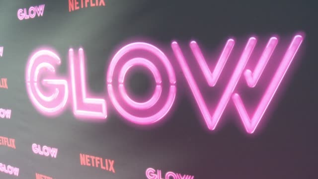 netflix original series glow los angeles premiere at arclight cinemas cinerama dome on june 21 2017 in hollywood california - cinerama dome hollywood stock videos and b-roll footage