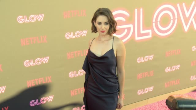 "Netflix Original Series ""GLOW"" LA Premiere in Los Angeles CA"