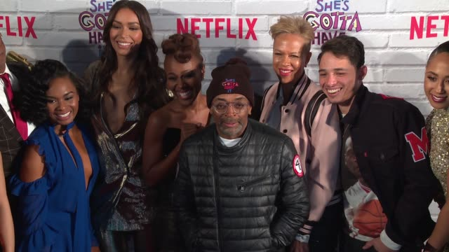 CLEAN – Netflix Original Series 'She's Gotta Have It' Premiere at Brooklyn Academy of Music on November 11 2017 in New York City