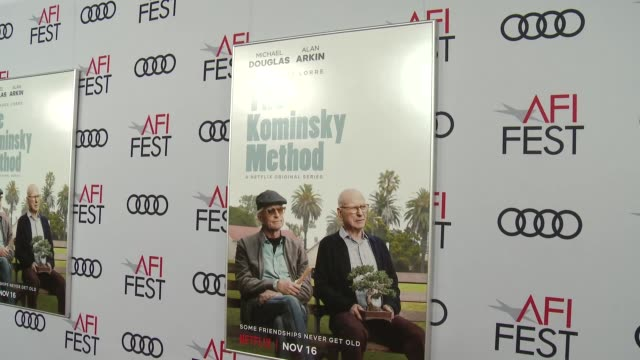 Netflix Original Series The Kominsky Method Los Angeles Premiere At AFI Fest at TCL Chinese Theatre on November 10 2018 in Hollywood California