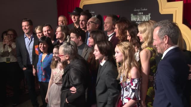 "netflix premieres ""a series of unfortunate events"" season 2 at metrograph on march 29, 2018 in new york city. - patrick warburton stock videos & royalty-free footage"
