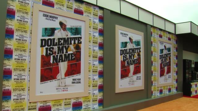 atmosphere netflix presents dolemite is my name la premiere on september 28 2019 in los angeles california - eddie murphy stock videos & royalty-free footage