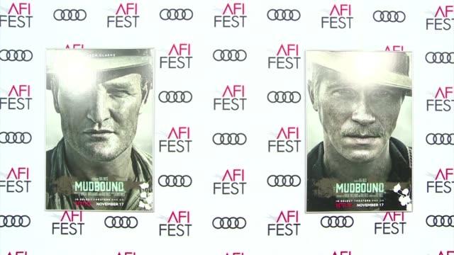 netflix's movie mudbound opens 2017 afi film festival in los angeles - american film institute stock videos & royalty-free footage