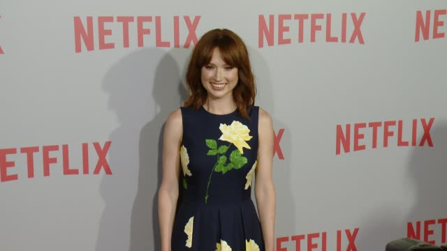 clean netflix's series unbreakable kimmy schmidt qa screening event at pacific design center on june 07 2015 in west hollywood california - pacific design center stock videos and b-roll footage