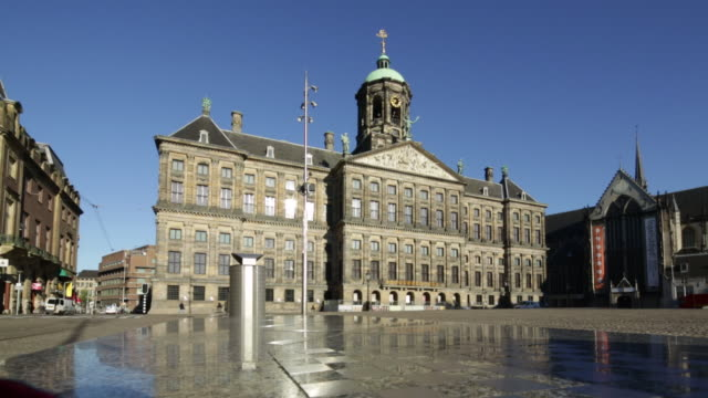 Netherlands, Amsterdam, Royal Palace on Dam Square