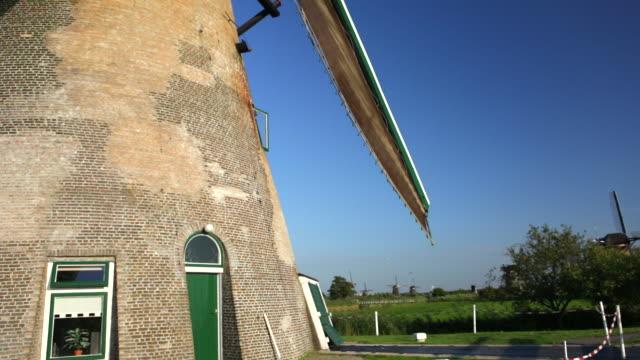 vidéos et rushes de netherlands, kinderdijk, windmills, unesco world heritage site - culture néerlandaise