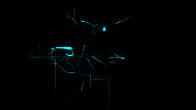 netzwerk-verbindungen-hintergrund - connection in process stock-videos und b-roll-filmmaterial