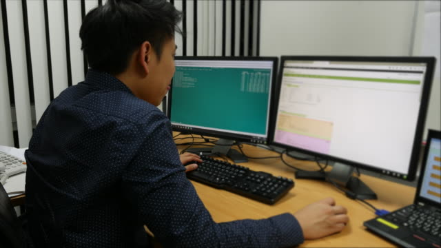 Network Engineering monitoring the traffic and configure