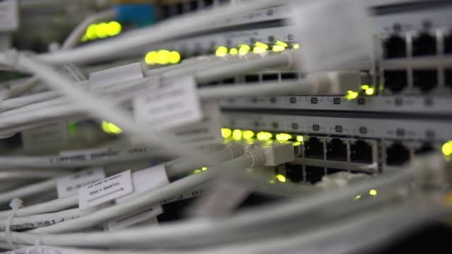 vidéos et rushes de équipements réseau - switch
