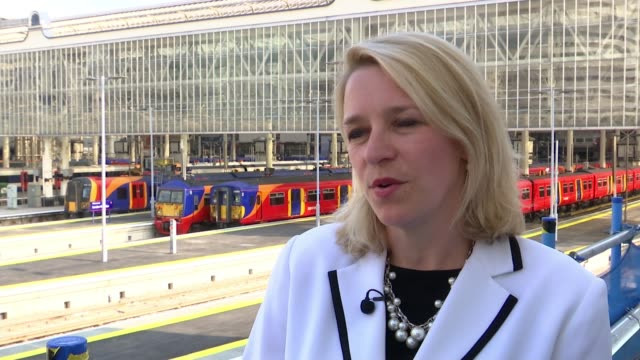 Network Rail apologises after major project to upgrade Waterloo station overran London Waterloo EXT Reporter to camera Becky Lumlock interview SOT...