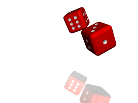 red dice - dice stock videos & royalty-free footage