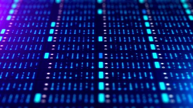 ネットワーク サーバーのデータ - 中央演算処理装置点の映像素材/bロール