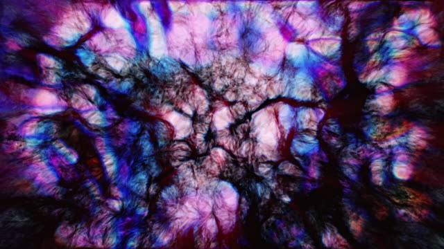 neural network of artificial intelligence | interstellar psychedelic dreams | 4k - psychedelic stock videos & royalty-free footage
