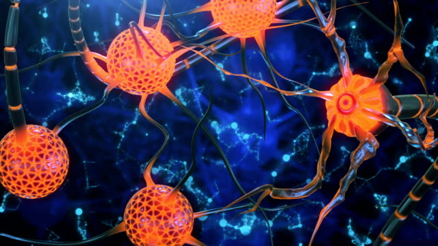 neuron cells - schizophrenia stock videos & royalty-free footage