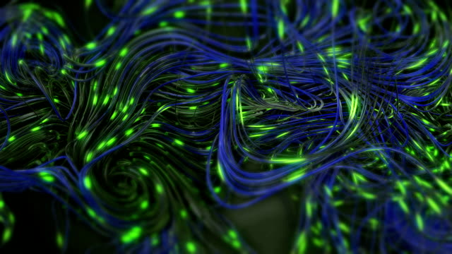 neuron network loop - immagine in movimento in loop video stock e b–roll