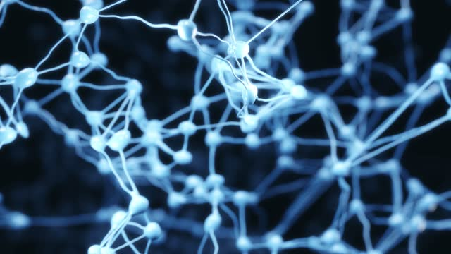 neurons cells system - neural axon stock videos & royalty-free footage