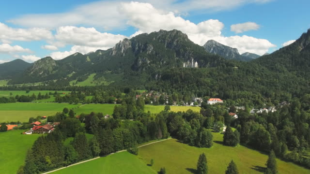 Neuschwanstein Castle And Its Surroundings