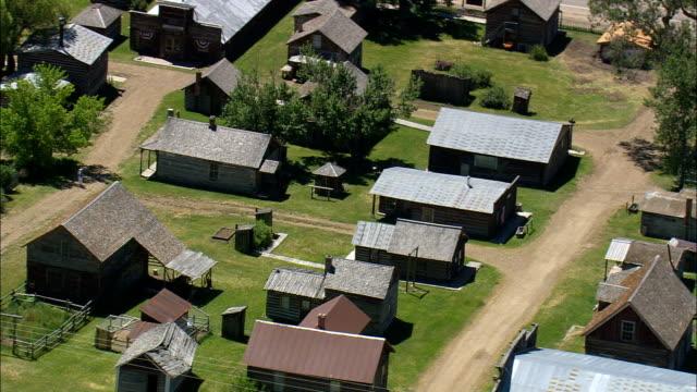 Nevada City  - Aerial View - Montana, Madison County, United States