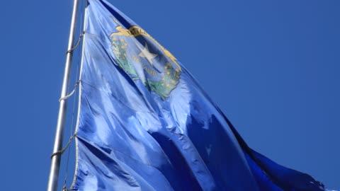nevada flag - flag stock videos & royalty-free footage