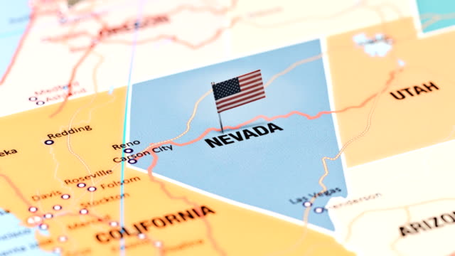 nevada usa staaten - nevada stock-videos und b-roll-filmmaterial