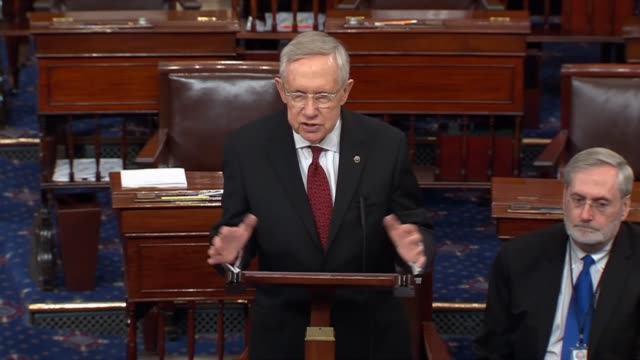 nevada senator harry reid says in remarks on an energy and water appropriations bill that the decade long drought is here quoting benjamin franklin... - benjamin franklin stock videos & royalty-free footage