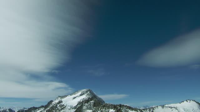 Nevado Del Plomo Peak In Andes Mountains
