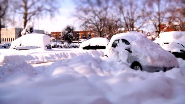 Neve alta in città