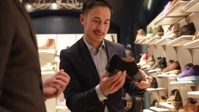 never enough shoes - only men stock videos & royalty-free footage