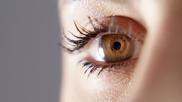 vidéos et rushes de ne perdez jamais de vue qui vous êtes - oeil humain