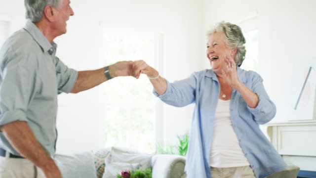 never put an age limit on fun - senior couple stock videos & royalty-free footage