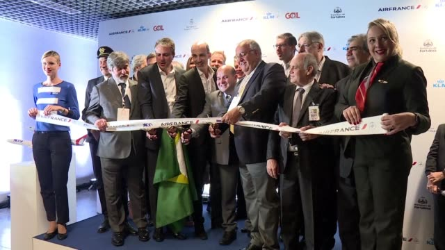 a new air travel hub in brazil's northeastern city of fortaleza will boost flights to and from europe and shorten travel times operators air france... - northeastern brazil stock videos and b-roll footage