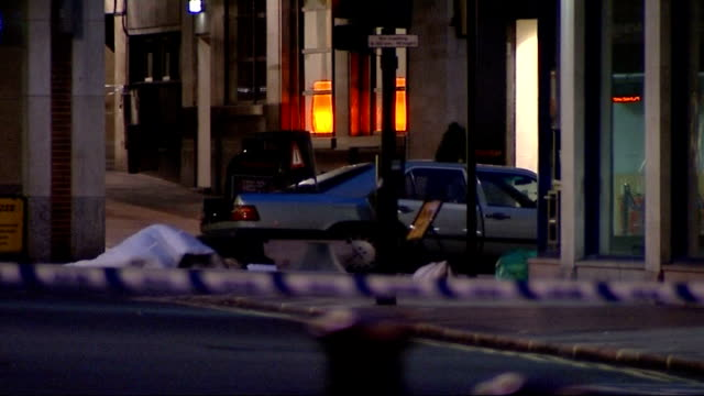 New al Qaida tape threatens more attacks on Britain TX London West End Police at cordonedoff area following attempted car bombing in Haymarket