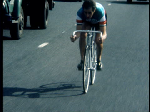 cs wheel and bar of alan shorter bicycle pull out ms alf engers walks to bike bv legs walk pull ms engers onto bike bv away and into traffic ms... - pedal stock videos & royalty-free footage