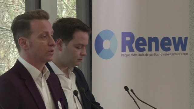 A new anti Brexit centrist political party holds its official launch in London Monday one of several initiatives by pro European Union campaigners...