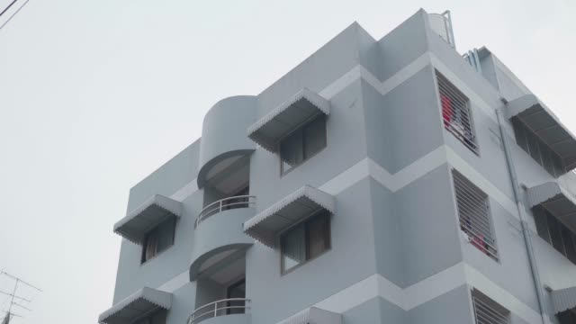 new apartments, bangkok. - balcony stock videos and b-roll footage