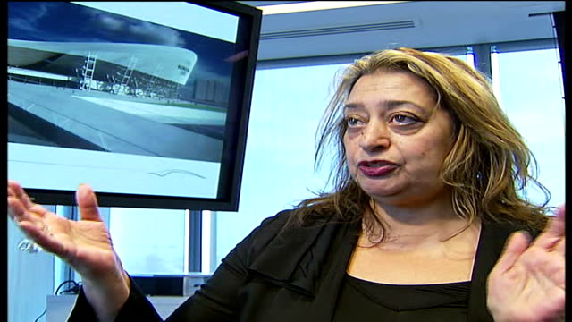 New Aquatic Centre plans unveiled INT Zaha Hadid interview SOT steel structure will remain after Olympics David Higgins interview SOT will not...