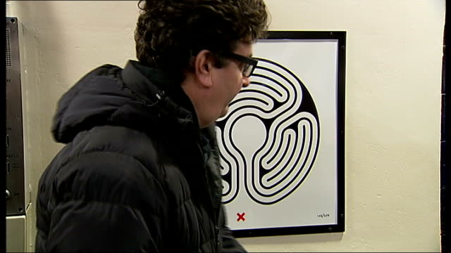 New art installation for the London Underground ENGLAND London St James's Park London Underground Station INT Artist Mark Wallinger and Tamsin Dillon...