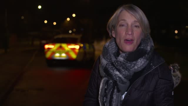 new 'ask for ani' codeword scheme for domestic abuse victims as figures show rise in violence over christmas during lockdown; int police car police... - crime stock videos & royalty-free footage