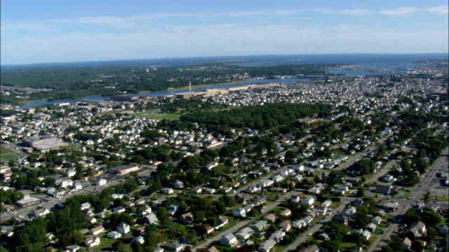 New Bedford  - Aerial View - Massachusetts,  Bristol County,  United States
