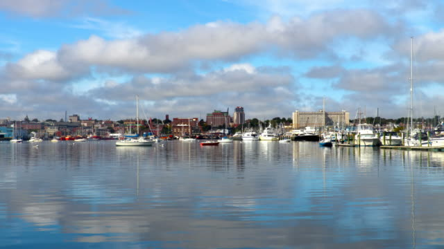 new bedford harbor - new bedford stock videos & royalty-free footage