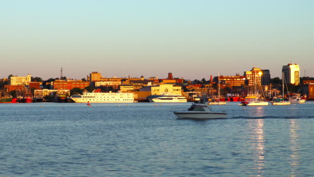 new bedford massachusetts harbor - new bedford stock videos & royalty-free footage