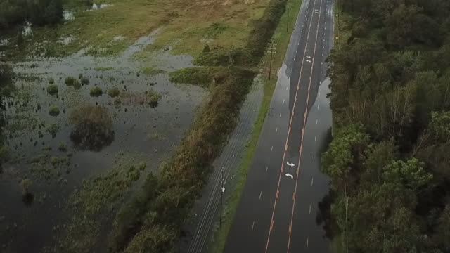 stockvideo's en b-roll-footage met new bern and kinston, nc, u.s., - flood after hurricane florence, on friday, september 14, 2018. - north carolina amerikaanse staat