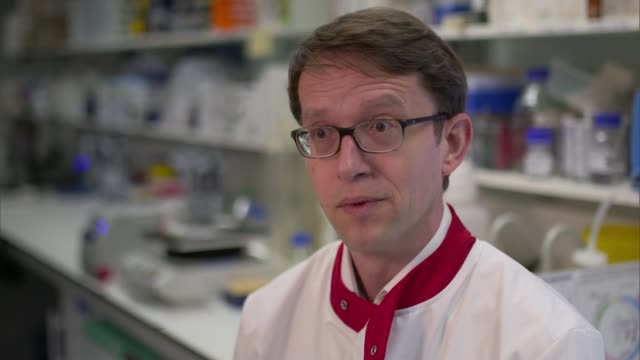 New blood test could identify cancer at an early stage ENGLAND London Institute of Cancer Research INT Professor Nicholas Turner interview SOT...