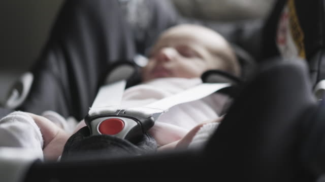 new born baby - seat stock videos & royalty-free footage