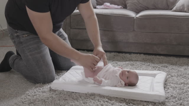 new born baby - nappy stock videos & royalty-free footage
