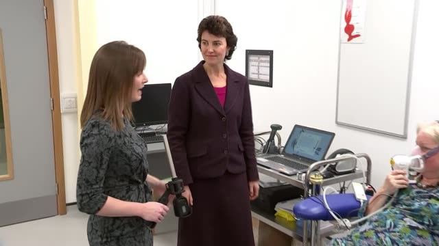 New breath test hopes to revolutionise the diagnosis of cancer ENGLAND Cambridge Addenbrooke's Hospital INT Reporter to camera SOT whilst Professor...